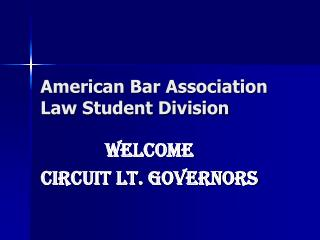 American Bar Association Law Student Division