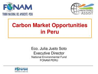 Carbon Market Opportunities in Peru