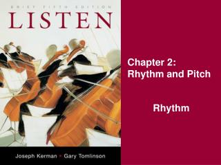 Chapter 2: Rhythm and Pitch