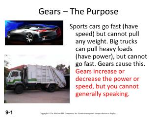 Gears – The Purpose