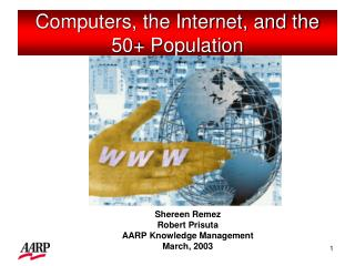 Computers, the Internet, and the 50+ Population