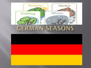 German seasons