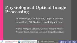 Physiological Optical Image Processing