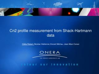 Cn2 profile measurement from Shack-Hartmann data