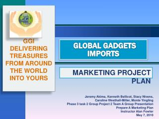 GLOBAL GADGETS IMPORTS