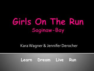 Girls On The Run Saginaw-Bay