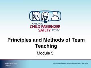 Principles and Methods of Team Teaching