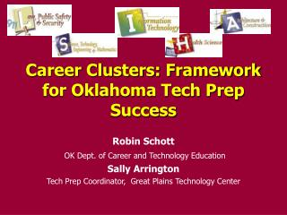 Career Clusters: Framework for Oklahoma Tech Prep Success