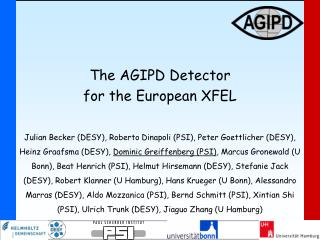 The AGIPD Detector  for the European XFEL
