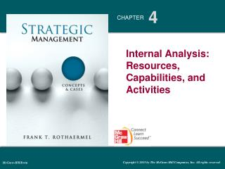 Internal Analysis: Resources, Capabilities,  and Activities