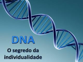 DNA O segredo da individualidade