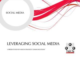 Social media in sl