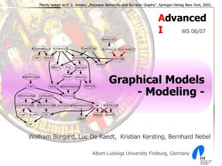 Graphical Models - Modeling -