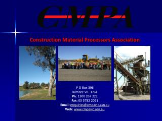 Construction Material Processors Association