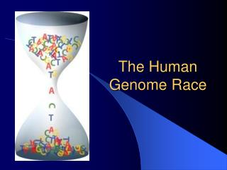 The Human Genome Race