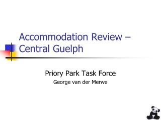 Accommodation Review – Central Guelph