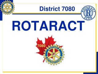 District 7080