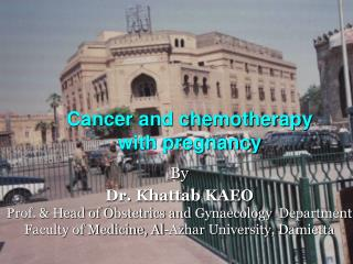 Cancer and chemotherapy with pregnancy