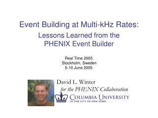 Event Building at Multi-kHz Rates: