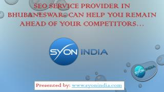 SEO Service provider in Bhubaneswar-Help You Remain Ahead