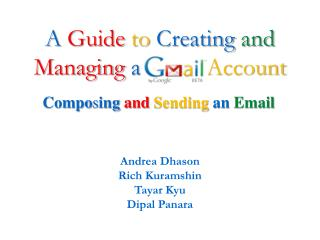 A Guide to Creating and Managing a Account