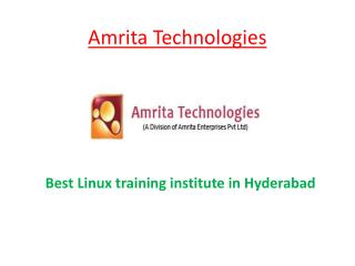 Red Hat Linux Training Hyderabad