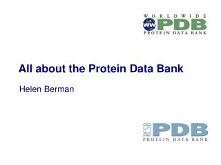 All about the Protein Data Bank