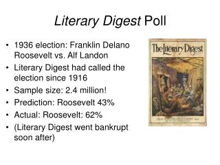 Literary Digest  Poll