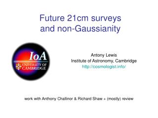 Future 21cm surveys  and non-Gaussianity