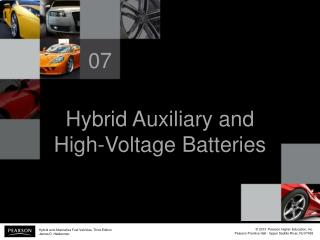 Hybrid Auxiliary and High-Voltage Batteries