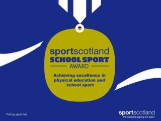 What is the School Sport Award?