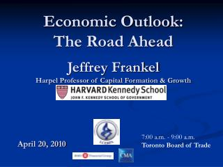 Jeffrey Frankel Harpel Professor of Capital Formation & Growth