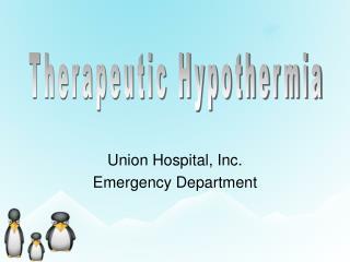 Union Hospital, Inc. Emergency Department