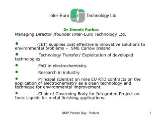 Inter-Euro              Technology Ltd