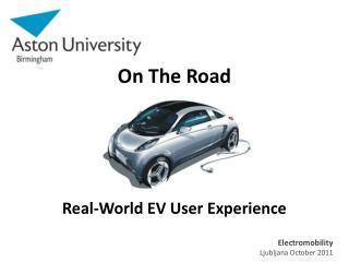 On The Road  Real-World EV User Experience