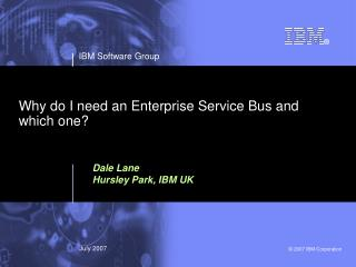 Why do I need an Enterprise Service Bus and which one?