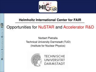 Opportunities for  NuSTAR  and  Accelerator R&D