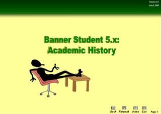 Banner Student 5.x: Academic History