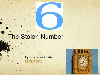 The Stolen Number