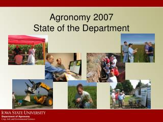 Agronomy 2007 State of the Department