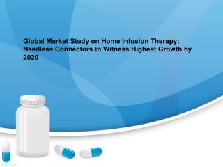Home Infusion Therapy Market Research Report and Global Fore