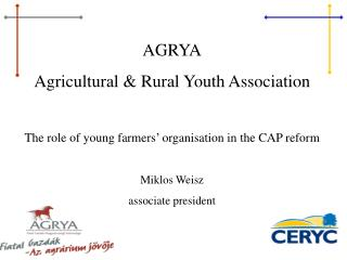 AGRYA Agricultural & Rural Youth Association