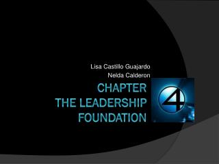 Chapter The leadership foundation
