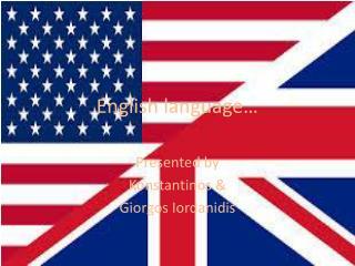 English language…