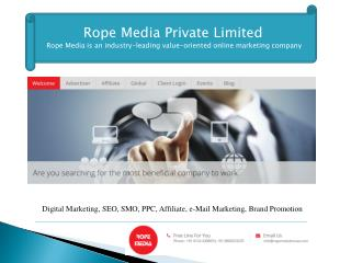 Rope Media: The strategic importance of Digital Marketing