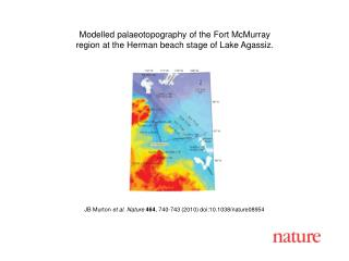 JB Murton  et al. Nature 464 , 740-743 (2010) doi:10.1038/nature08954