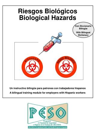 Riesgos Biológicos Biological Hazards