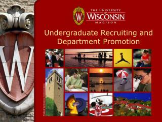 Undergraduate Recruiting and Department Promotion