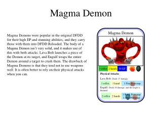 Magma Demon