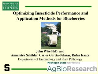 Optimizing Insecticide Performance and Application Methods for Blueberries